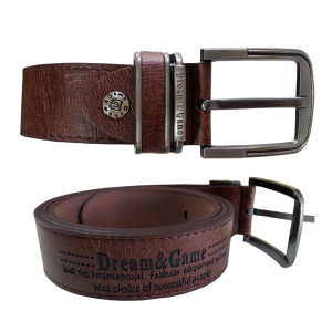 Fashion Touch Brown Belt With Texture
