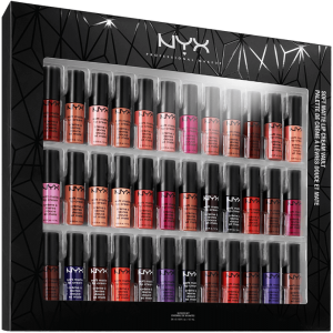 Nyx Soft 36 Shades Lip Cream Matte Lipstick Vault