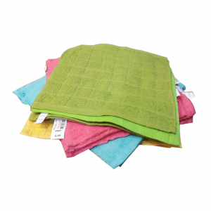 Hand Wash Multi Colors Towel (Pack Of 12)