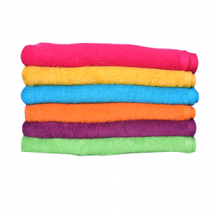 Multi Colors Face Towels (Pack Of 6)