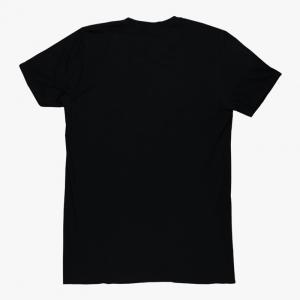 Plain Black Half Sleeves T Shirts For Men
