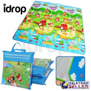 Kids Play Mat Crawling Educational Double Sided Waterproof Carpet for Kids