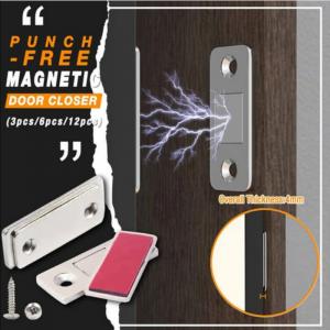 Strong Door Closer Magnetic Door Catch Latch (Pack Of 6)