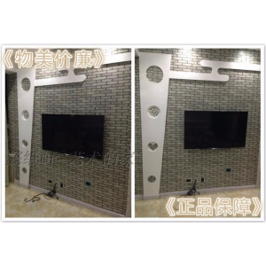 Self Adhesive Brick Wallpaper PVC Waterproof Wall Stickers Brick Wallpaper (Grey Brick) Large